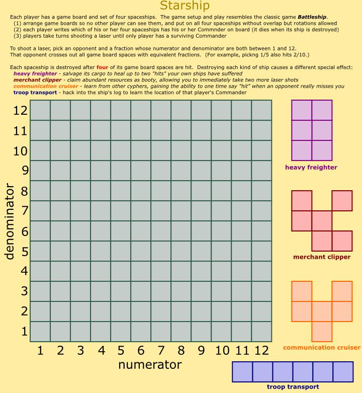http://davidvs.net/hobbies/mathgames.shtml#Fractions
